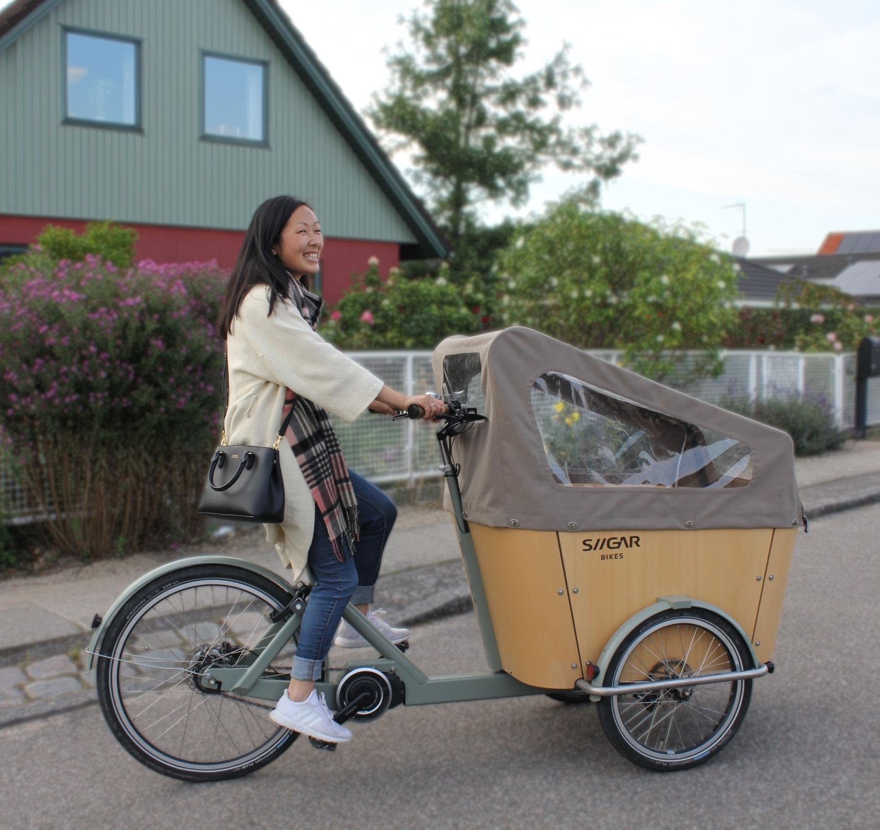 Ladcykel i høj kvalitet, dansk design og solid udførelse.